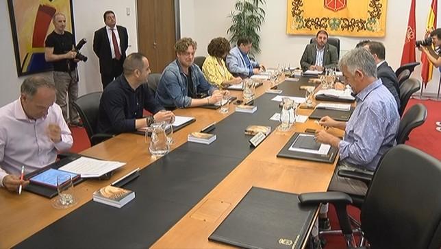 Arranca la semana política con la Mesa y Junta de portavoces Parlamento de Navarra