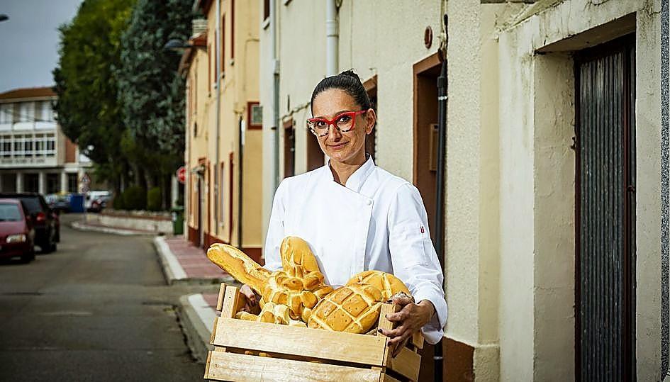 Celia San Miguel, de Deliciass, repostería creativa (Portillo).