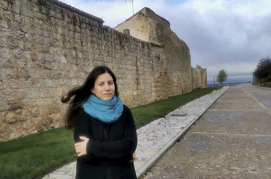 Inés Toharía, de Librería El Grifilm (Urueña).