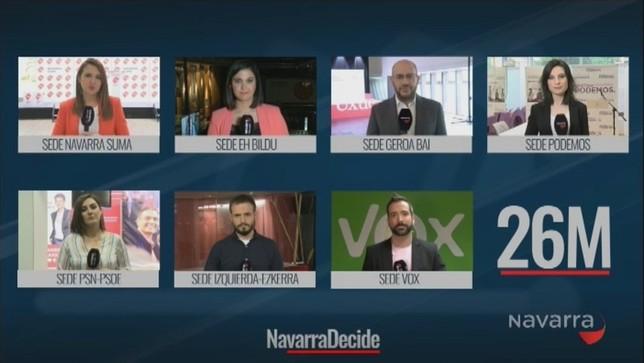 Navarra TV, referencia en una jornada clave para Navarra