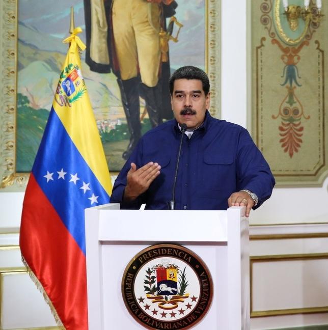 Maduro achaca los apagones a un golpe de Estado  HANDOUT