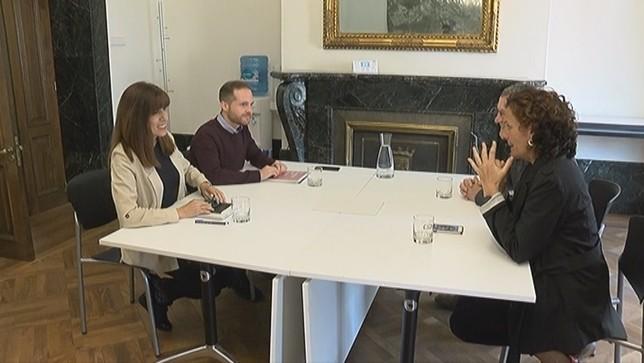 Esporrín mantiene votarse a sí misma para liderar Pamplona