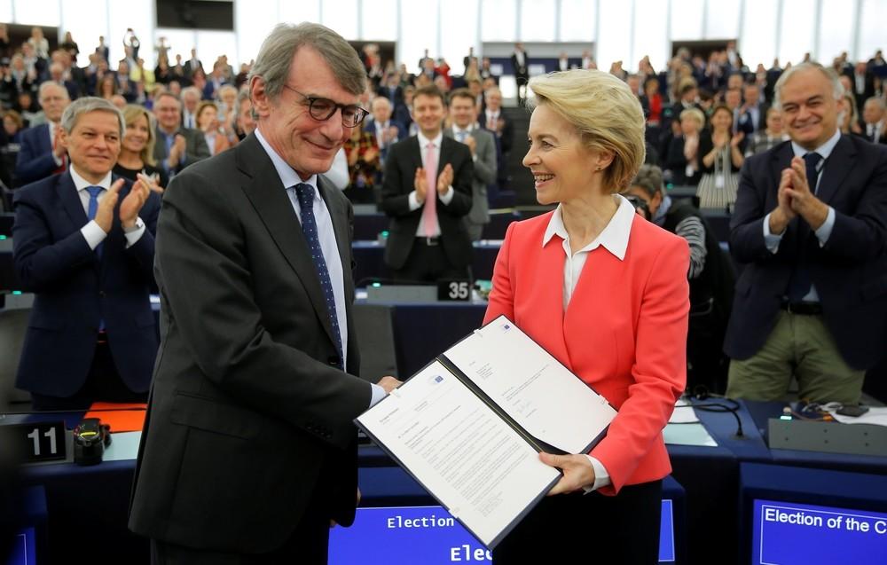 Von der Leyen logra el visto bueno de la Eurocámara