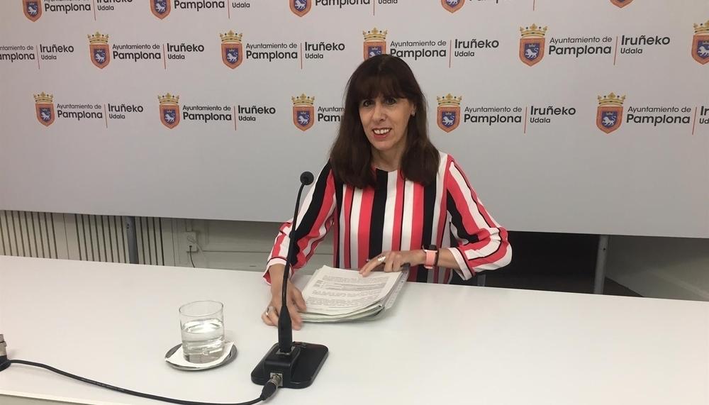 Esporrín, vicepresidenta de la Mancomunidad de Pamplona