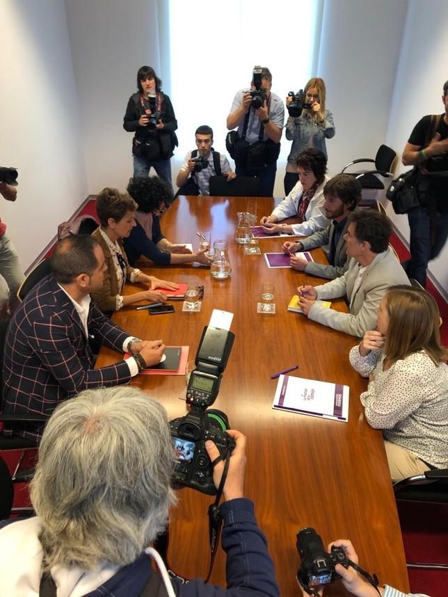 PSN sigue con las reuniones, sin que Ferraz se niegue a ello
