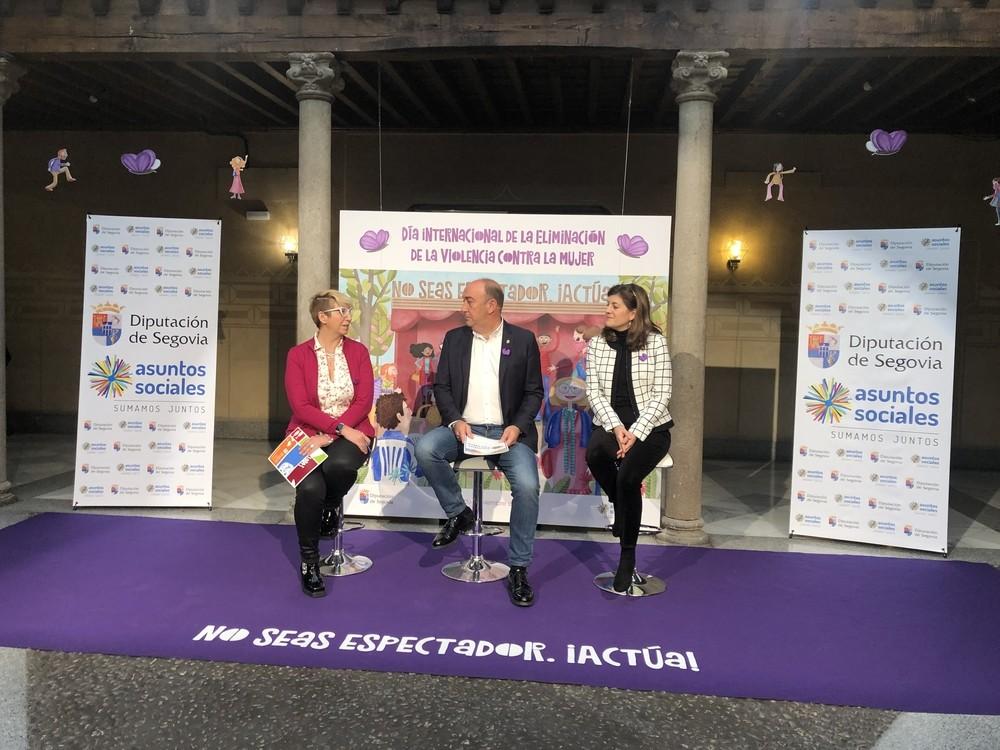 La Diputación atiende a 105 víctimas de violencia de género