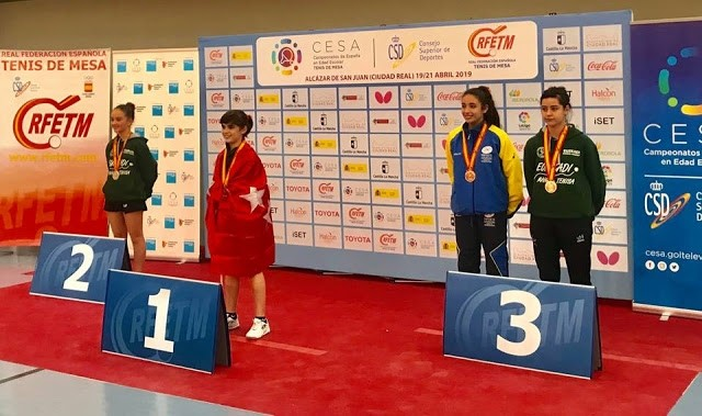 Ángela Rodríguez se proclama campeona de España escolar