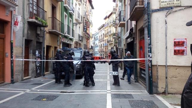 Protestas por la entrada de la policía a Rozalejo