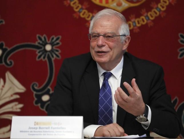 Borrell renuncia a su acta de eurodiputado