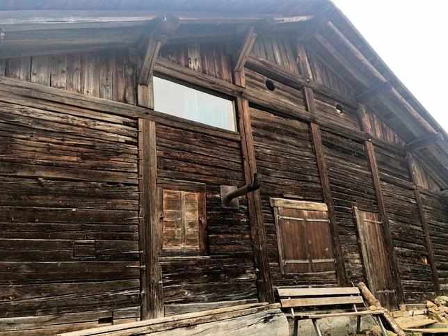 Una cabaña en los Alpes, el último refugio de Ternera