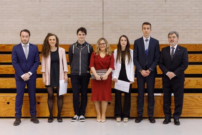 LA UPNA otorga 24 premios extraordinarios fin de estudios