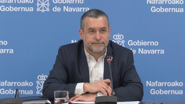 Laparra prevé no seguir en el Gobierno y volver a la UPNA Archivo NATV