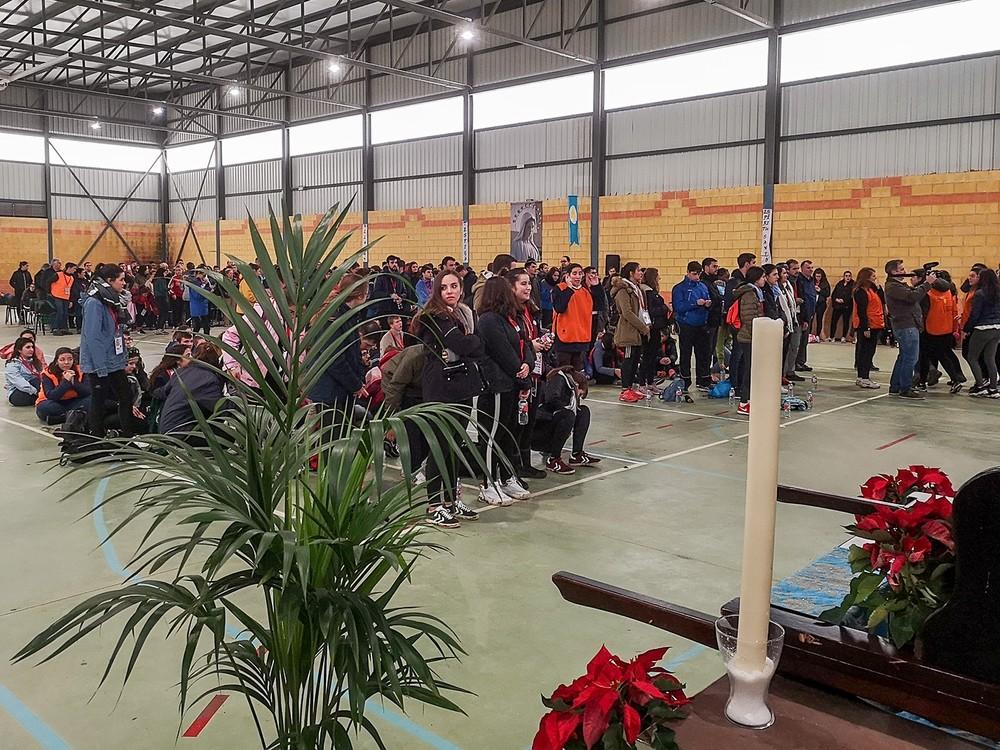 600 jóvenes en la XX Marcha de Adviento en Brazatortas