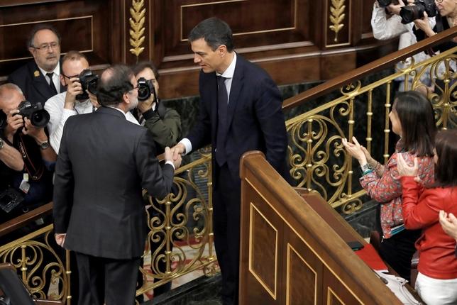 Se cumple un año de la moción de censura a Mariano Rajoy