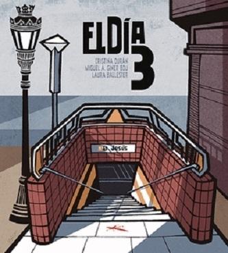 El Premio Nacional de Cómic reconoce a la novela 'El día 3'