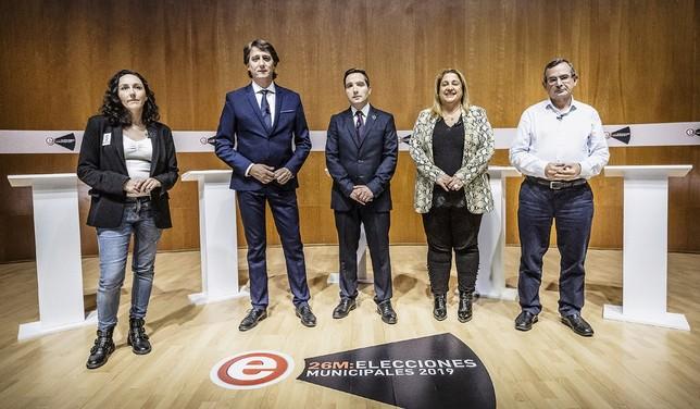 Turno de reproches en el debate a cuatro [Eugenio Gutierrez Martinez.; Eugenio Gutiérrez];