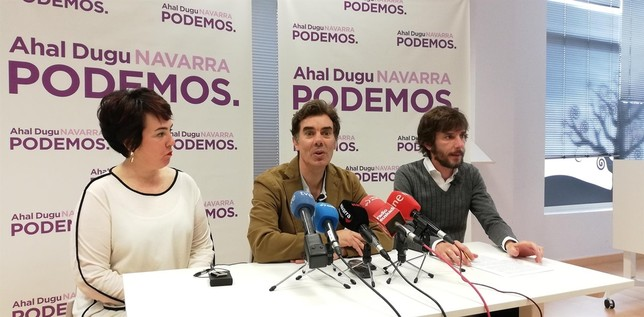 El Parlamento permite a Podemos no estar en el grupo mixto Europa Press