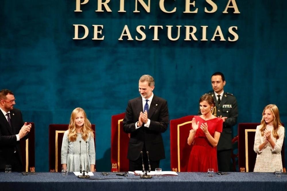 Leonor de Borbón brilla en su debut como Princesa de Asturias