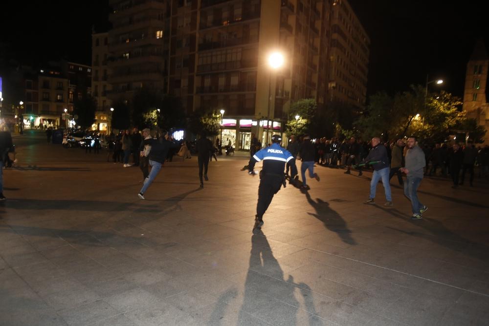 Concentraciones en Valladolid por el conflicto catalán