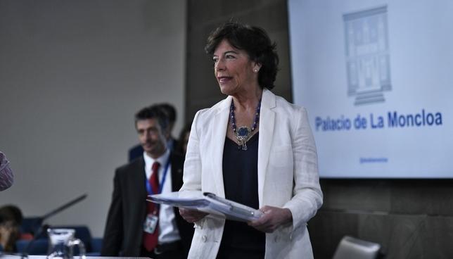 Celaá espera  ARCHIVO