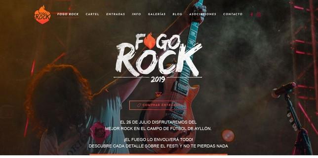 Rock y fuego en Ayllón