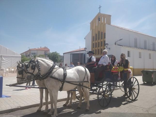 Alta participación en las fiestas de la Divina Pastora