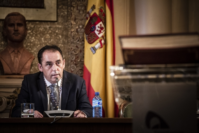 Benito Serrano, presidente de la Diputación