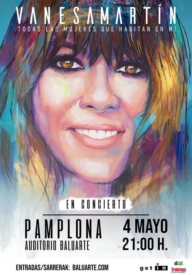 Vanessa Martín vuelve a Pamplona el próximo 4 de mayo