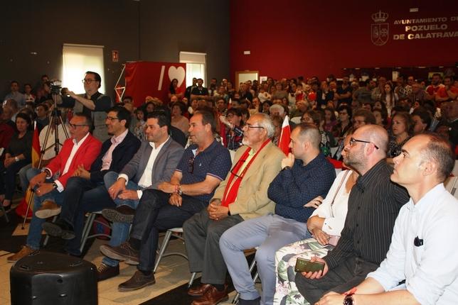 Caballero, «orgulloso» de los 140 años de historia del PSOE