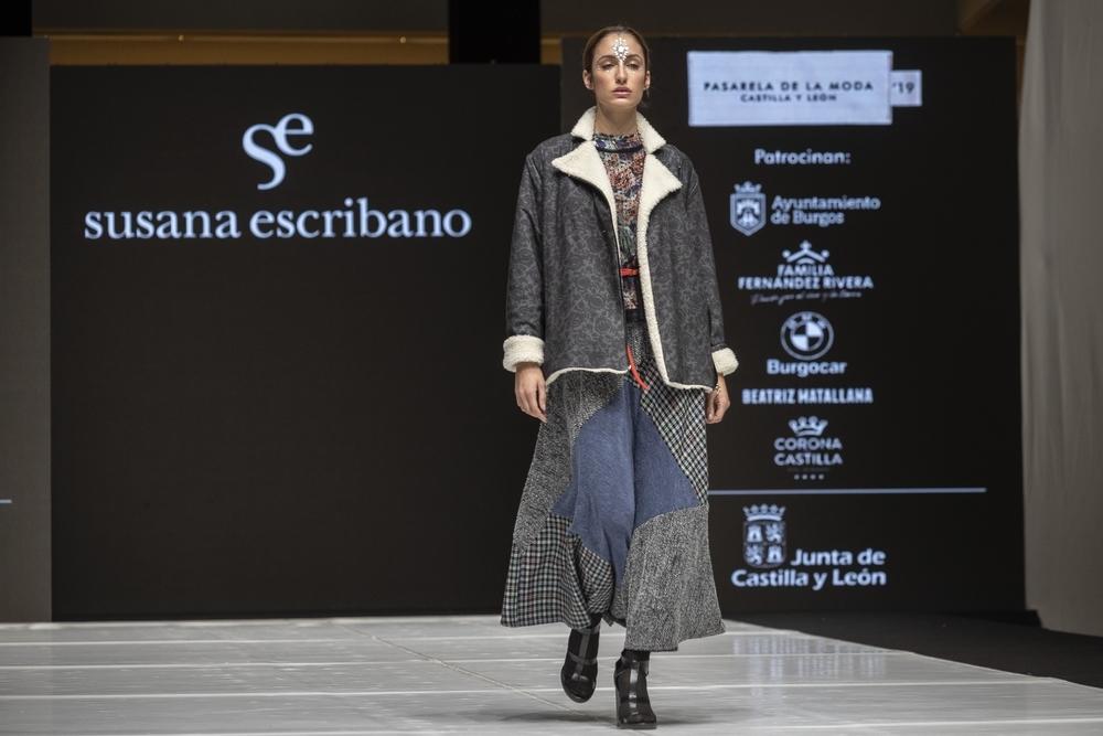 La empresa familiar Susana Escribano, ubicada en León, presentó en Burgos su colección 'Patchwork'.
