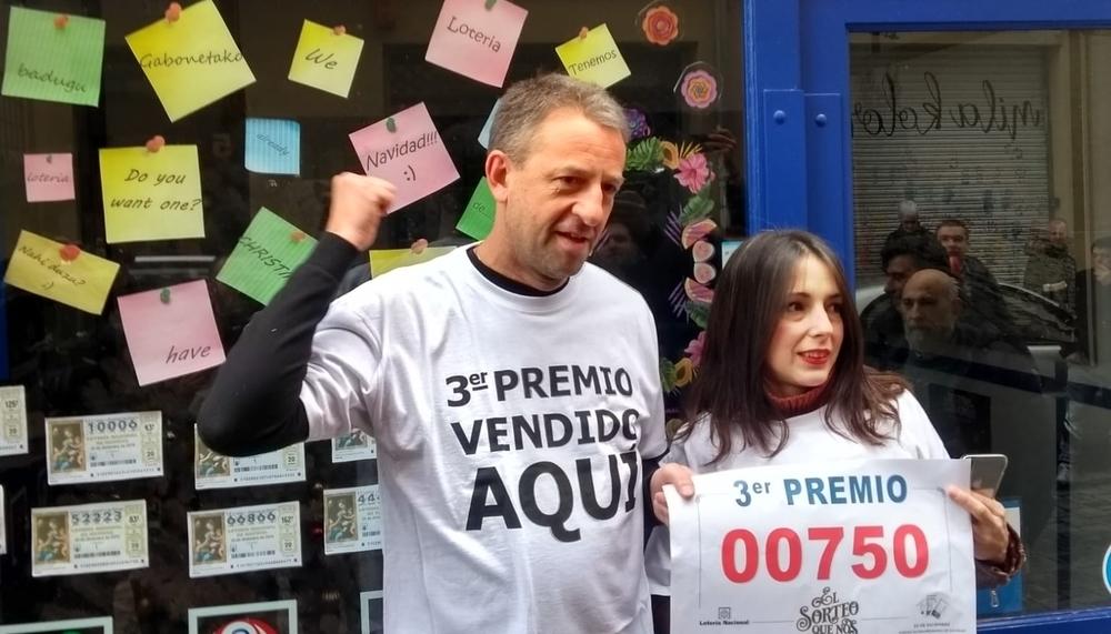 El tercer premio deja más de 5 millones en Pamplona y Noáin