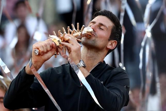 Djokovic, señor de Madrid por tercera vez SERGIO PEREZ