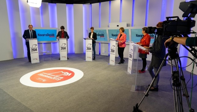 Los candidatos defienden dos modelos fiscales contrapuestos NATV-Íñigo Yanci