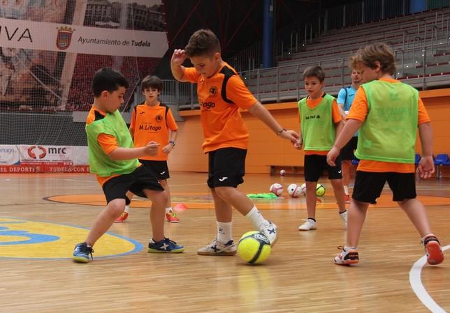Finaliza el IX Campus de Fútbol Sala de la Fundación Ribera CEDIDA