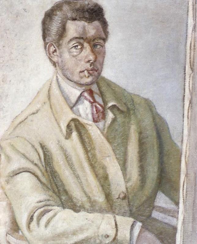 Autorretrato del pintor murciano, que vivió entre los años 1923 y 1977.