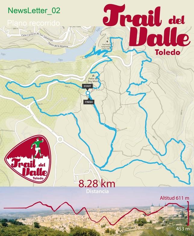El nuevo Trail del Valle verá la luz el próximo 2 de junio