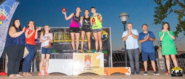 Expósito y de la Ossa ganan la carrera popular de Quintanar