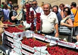 Milagro celebra este fin de semana su Día de la Cereza Turismo de Navarra