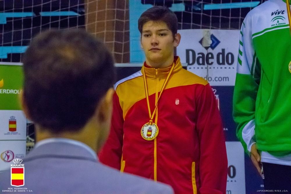 El Budokan conquista tres platas en el Campeonato de España