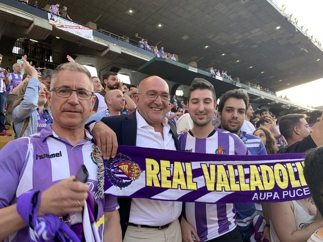 Valladolid celebra que su equipo es de Primera