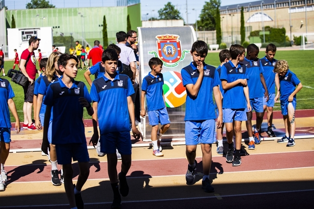 El hijo de Reyes estaba jugando en Ciudad Real
