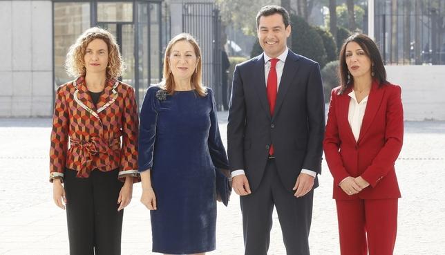 Moreno se pone al frente de la Junta de Andalucía José Manuel Vidal.