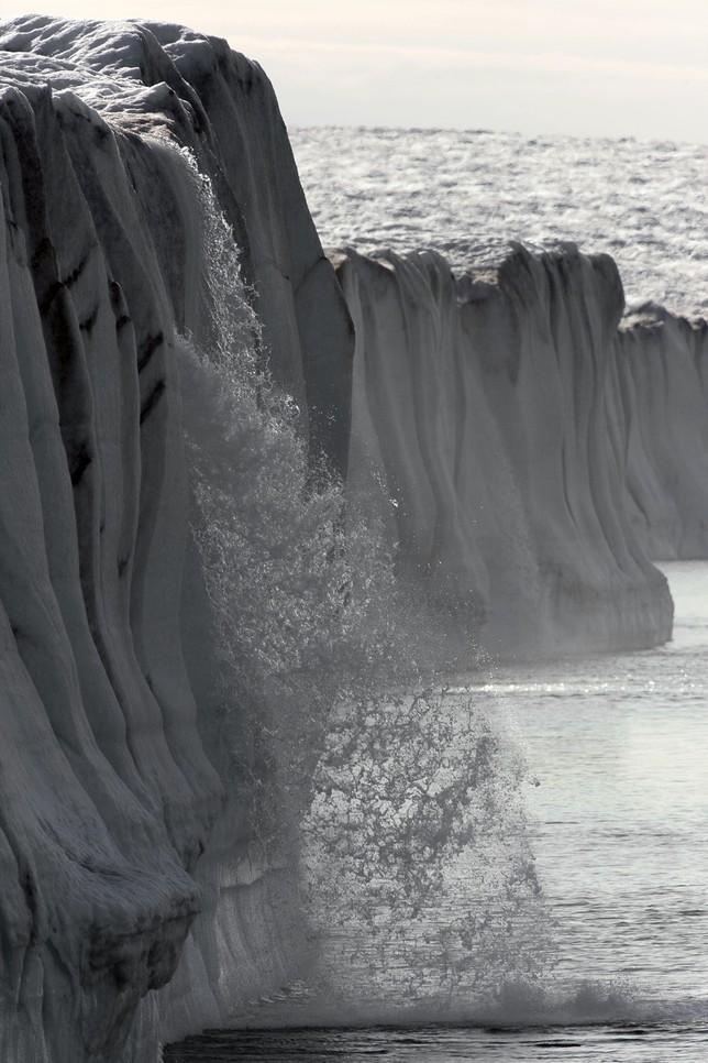 Groenlandia no se derrite, se desliza hacia el mar Nick Cobbing
