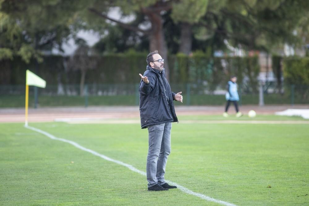 Paco Senda, técnico del CD Madridejos