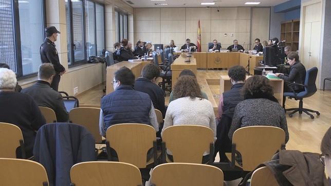 La Audiencia Nacional revisa el caso Alsasua