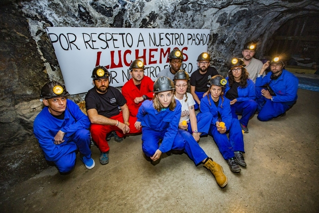 SOS a 50 metros bajo tierra