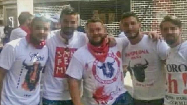 Detenidos los cinco miembros de La Manada en Sevilla