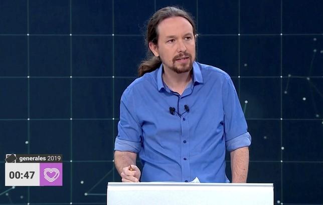 Iglesias: «Pedimos que se cumpla toda la constitución»