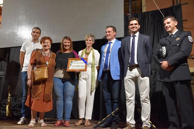 La alcaldesa pregona las fiestas de Puerta de Zamora