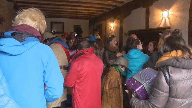 Uitzi celebra el primer carnaval de Navarra